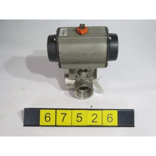 "BALL VALVE 3 WAY - TRI-STATE - 2"" - USED"