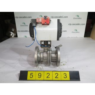 "BALL VALVE - FLOWTEK F15 - 2"" - USED"