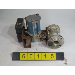 "BALL VALVE - JAMESBURY 5150 - 1 1/2"" - USED"