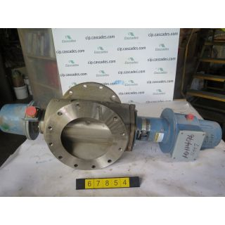 "BASIS WEIGHT VALVE - DEZURIK - PPE - 10"" - USED"
