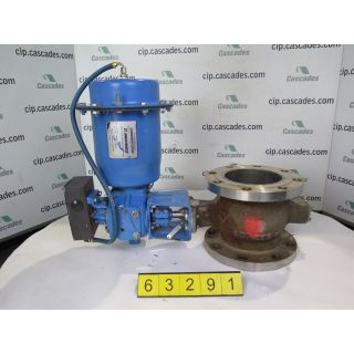 "V-BALL VALVE - NELES JAMESBURY R21- 6"" - USED"