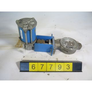 "BUTTERFLY VALVE - JAMESBURY 815M - 3"" - STORE SURPLUS"