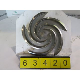 IMPELLER - GOULDS 3196 MTX - 1 X 2 - 10 - STORE SURPLUS