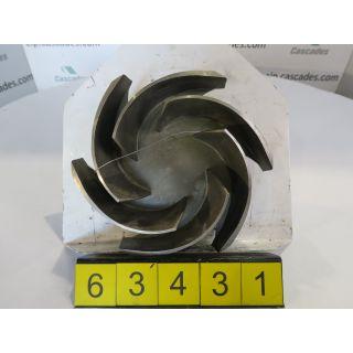 IMPELLER - GOULDS 3196 MT - 4 X 6 - 10 - STORE SURPLUS