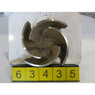 IMPELLER - GOULDS 3196 MT - 3 X 4 - 8 - STORE SURPLUS