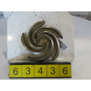 IMPELLER - GOULDS 3196 ST - 1 X 1.5 - 8 - STORE SURPLUS