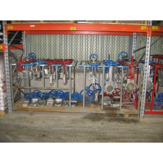 "KNIFE GATE VALVE - 3"" - TRUELINE - MANUAL - RESILIENT SEAT"