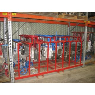"KNIFE GATE VALVE - 10"" - ORBINOX - MANUAL - METAL SEAT"