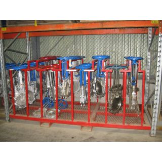 "KNIFE GATE VALVE - 12"" - NAQIP - MANUAL - METAL SEAT"