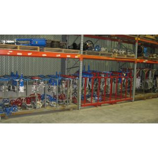 "KNIFE GATE VALVE - 8"" - TRUELINE - MANUAL - METAL SEAT"