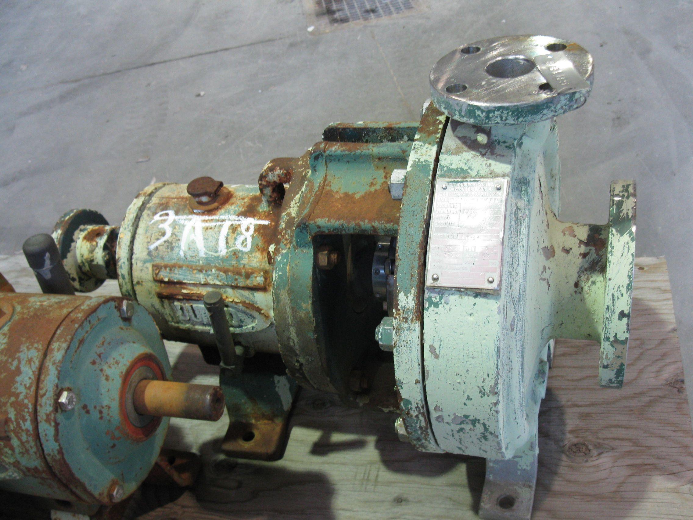 PUMP - DURCO MARK II - 3 X 1 5 - 10