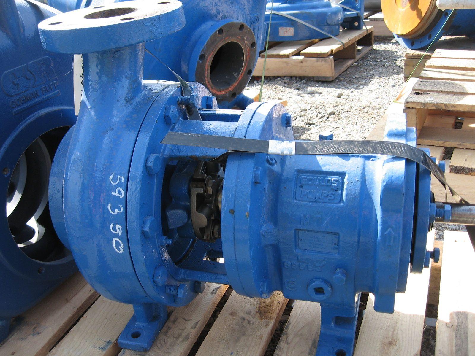 PUMP - GOULDS 3196 MTX - 3 X 4 - 10