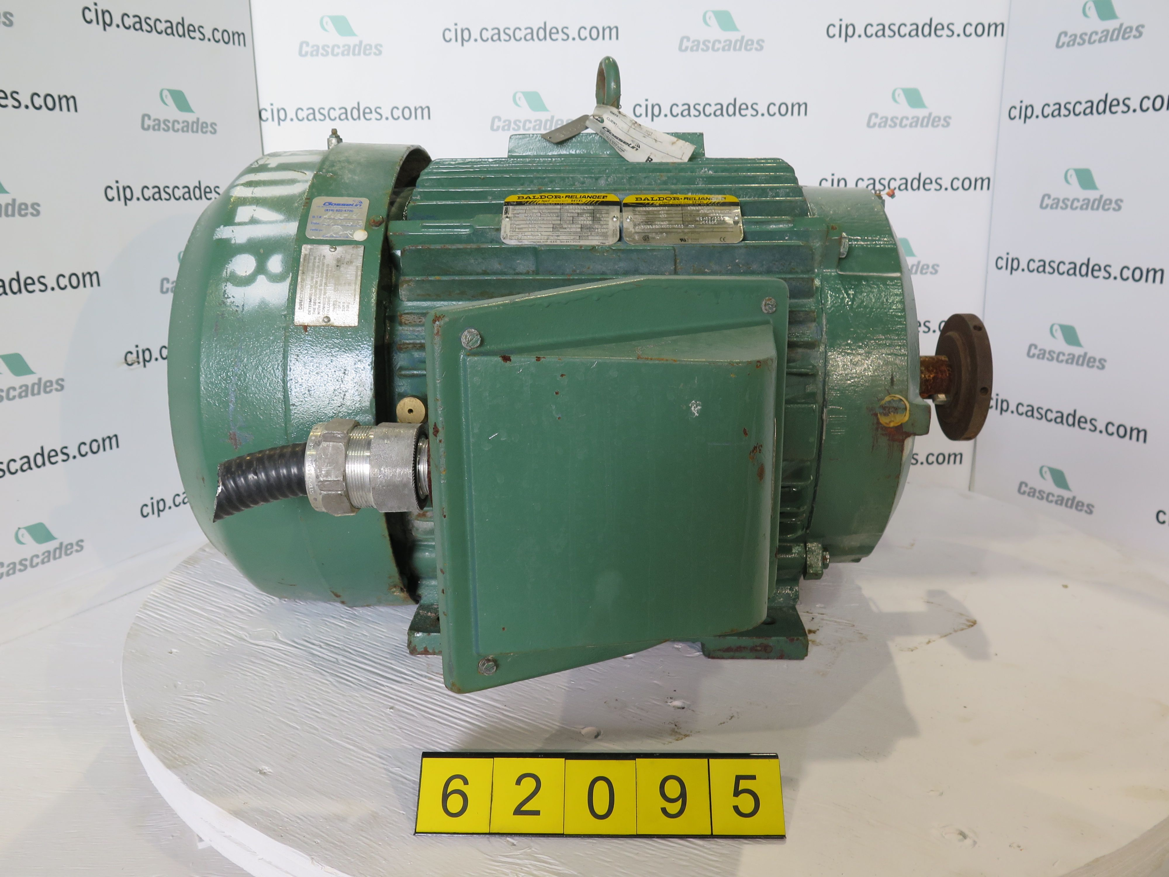 Baldor Motors Motor Ac 75 Hp 3600 Rpm 575 Volts