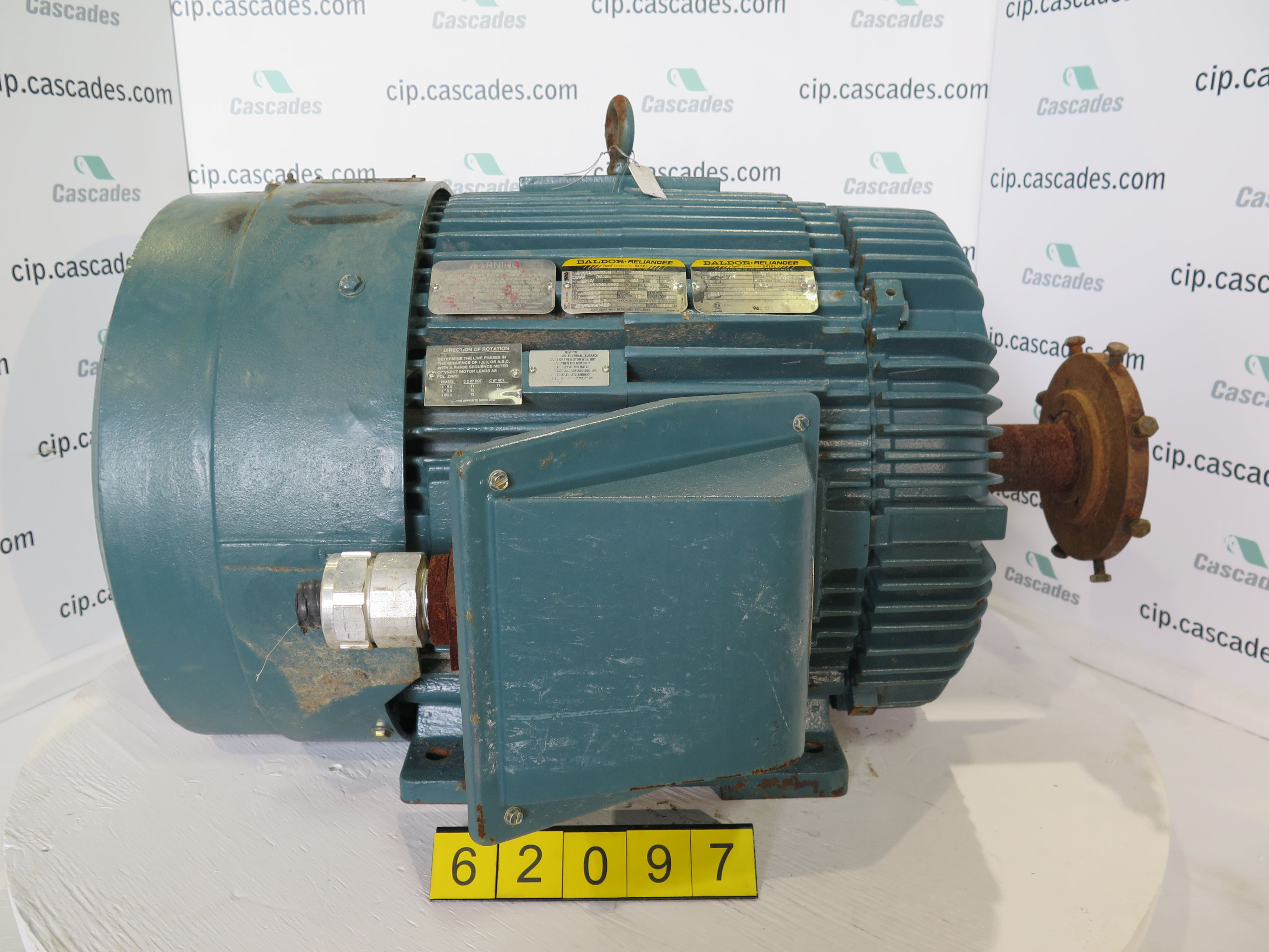 motor - ac - westinghouse - 100 hp - 1785 rpm - 575 volts