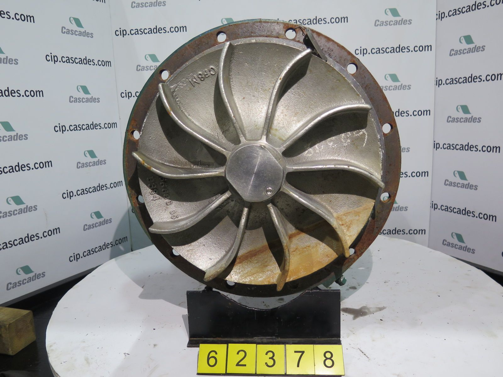 PUMP - WEMCO - LRH 17 - 8 X 10 - 17 - RECESSED IMPELLER PUMP